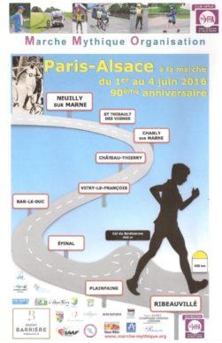 Affiche Paris Colmar